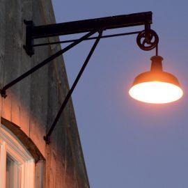 Aplice Exterior Fier Forjat - Aplica iluminat exterior din fier forjat WL 3592