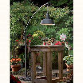 Stalpi Fier Forjat - Stalp iluminat exterior din fier forjat AL 6792