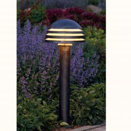 Stalpi Fier Forjat - Stalp iluminat exterior din fier forjat, inaltime 106cm, AL 6339