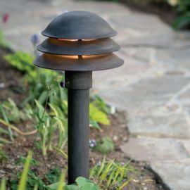 Stalpi Fier Forjat - Stalp iluminat exterior din fier forjat, inaltime 60cm, AL 6610