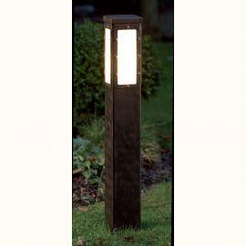 Stalpi Fier Forjat - Stalp iluminat exterior din fier forjat, inaltime 100cm, AL 6833