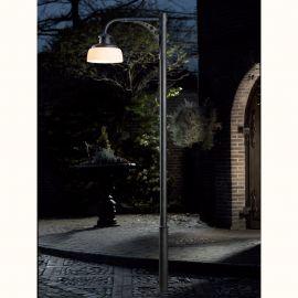 Stalpi Fier Forjat - Stalp iluminat exterior din fier forjat, inaltime 302cm, AL 6831
