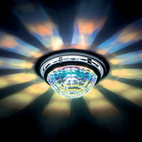 Plafoniere Cristal Swarovski - Spot incastrabil design LUX cristal Swarovski Aurora Borealis Vega SVA405