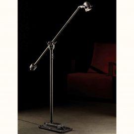 Veioze, Lampadare Fier Forjat - Lampa de podea design industrial din fier forjat SL 110