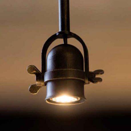 Lustre, Candelabre Fier Forjat - Pendul design industrial din fier forjat HL 2621