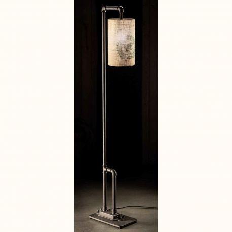 Veioze, Lampadare Fier Forjat - Lampa de podea design industrial din fier forjat SL 106