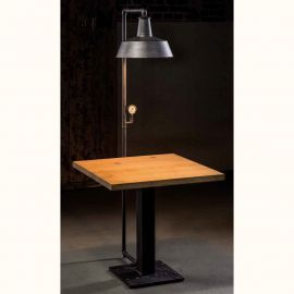 Mese dining - Masa design industrial din fier forjat H 16933