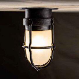 Stalp/ Plafoniera iluminat exterior din fier forjat, AL 6789