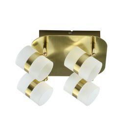 Plafoniere cu spoturi, Spoturi aplicate - Plafoniera LED moderna cu spoturi directionabile Inka 4L