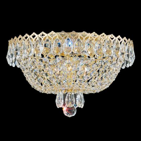 Plafoniere Cristal Schonbek - Plafoniera design LUX Crystal Gemcut, Camelot 2616