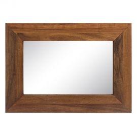 Oglinzi - Oglinda cu lemn design rustic-vintage Simply, 50x70cm