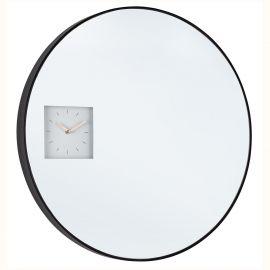 Decoratiuni perete - Oglinda de perete cu ceas integrat GLACE D60