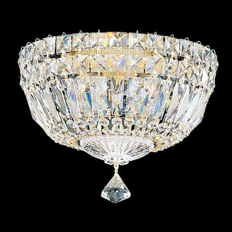 Plafoniere Cristal Schonbek - Plafoniera design LUX Crystal Gemcut, Petit Crystal Deluxe 5891, 25cm