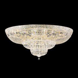 Plafoniere Cristal Schonbek - Plafoniera LUX cristal Swarovski, Petit Crystal Deluxe 5897, 122cm