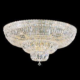 Plafoniere Cristal Schonbek - Plafoniera design LUX Crystal Gemcut, Petit Crystal Deluxe 5898, 77cm