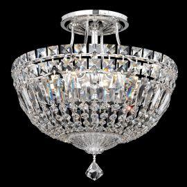 Plafoniere Cristal Schonbek - Plafoniera design LUX Crystal Spectra, Petit Crystal Deluxe 5901, 30cm