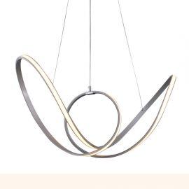 Candelabre, Lustre - Lustra design modern, iluminat LED dimabil si telecomanda Sheree 8