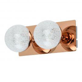 Aplice cu Spot - Aplica perete LED moderna Casper 2L cupru