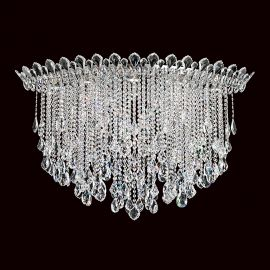 Plafoniere Cristal Schonbek - Plafoniera design LUX cristal Heritage, Trilliane Strands TR4802