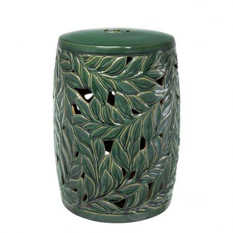 Masute Living - Masuta din ceramica pentru interior si exterior LUX Dorian verde