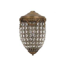 Aplica de perete mix timeless style, stralucitor, finisaj antique brass, Emperor