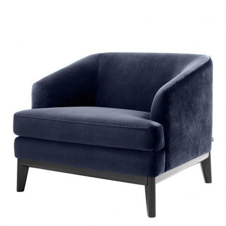 Fotolii - Fotoliu design LUX Monterey albastru inchis