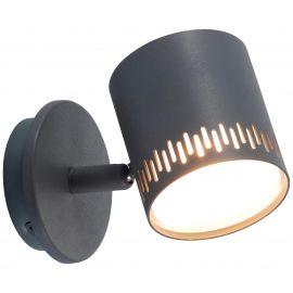 Aplice cu Spot - Aplica LED cu spot directionabil Cavi gri inchis