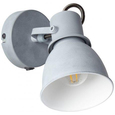 Aplice, corpuri de iluminat pentru pereti - Aplica perete design industrial BOGART
