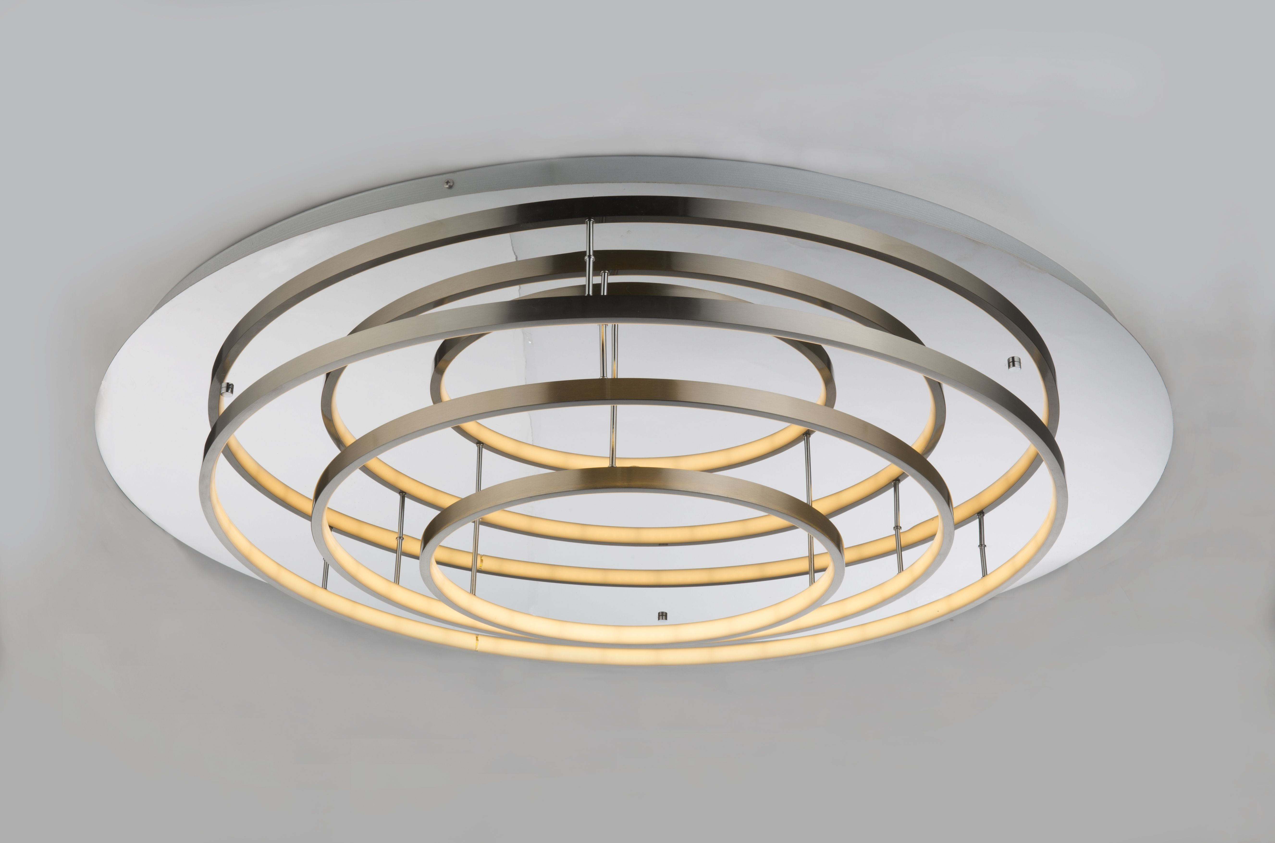 Plafoniera Led Cu Telecomanda : Corpuri de iluminat lustra led aplicata cu telecomanda design moder