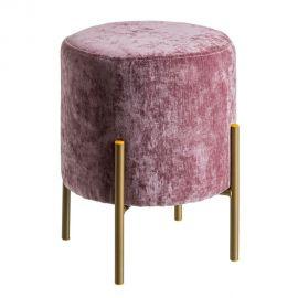 Banchete-Tabureti - Taburete elegant Tomson, catifea roz
