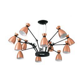 Pendule, Lustre suspendate - Pendul design Retro Copper 12L