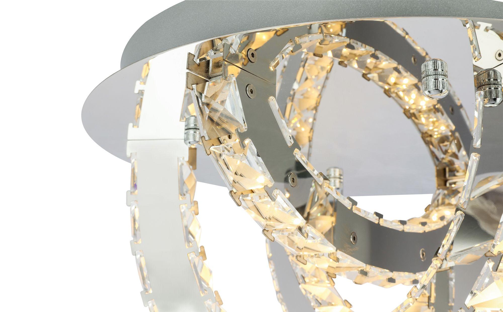 Plafoniera Led Dimabila : Corpuri de iluminat lustra plafoniera led dimabila design elegant