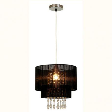 Candelabre, Lustre - Lustra eleganta LETA negru, 30cm