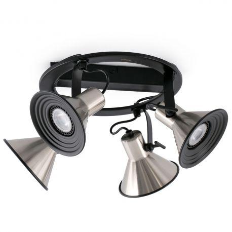 Plafoniere cu spoturi, Spoturi aplicate - Plafoniera cu 4 spoturi directionabile CUP-4