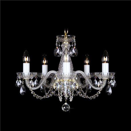 Lustre Cristal Bohemia - Lustra 5 brate cristal Bohemia