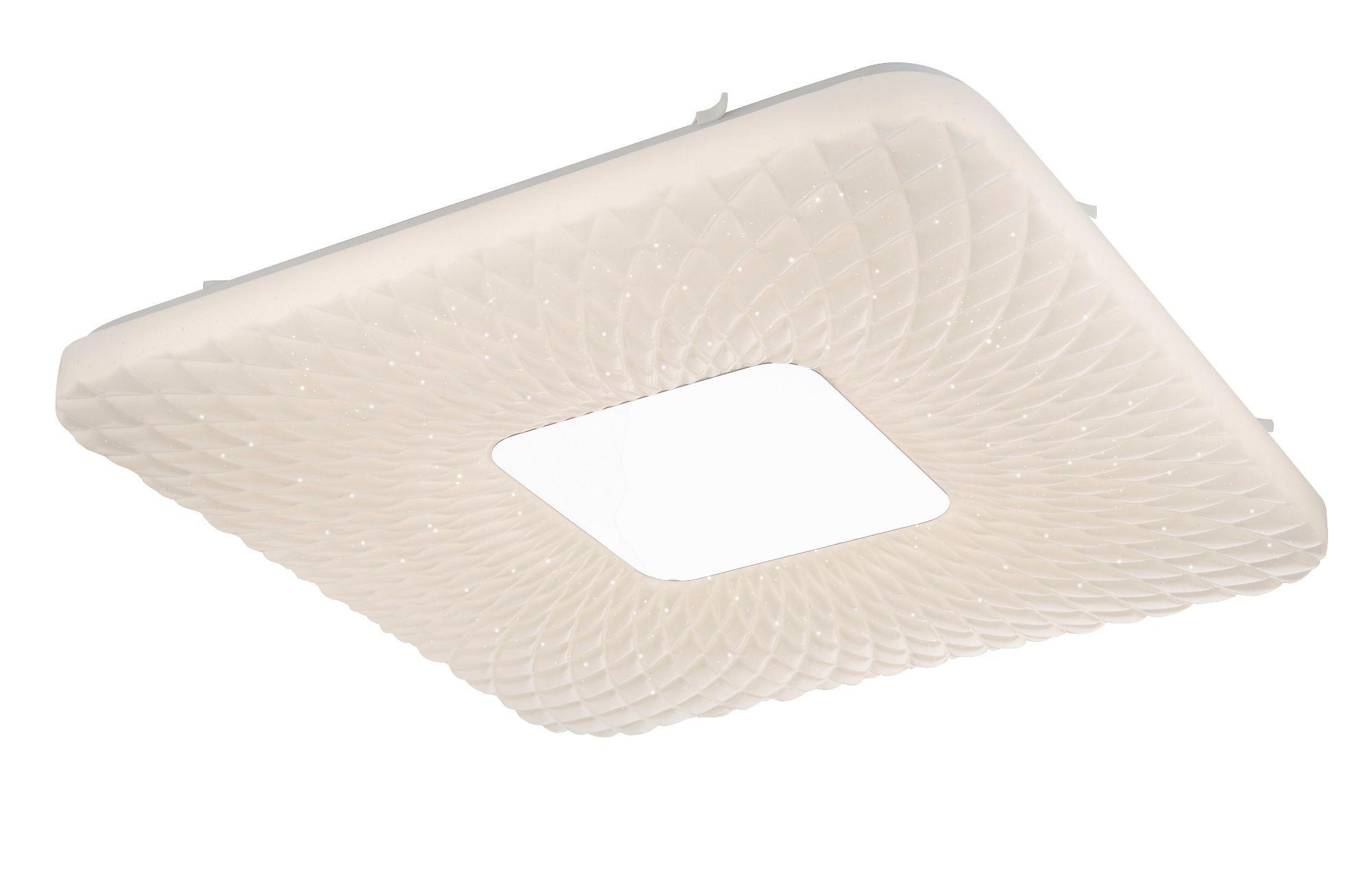 Plafoniera Led Dimabila : Corpuri de iluminat lustra led plafoniera dimabila cu telecomanda