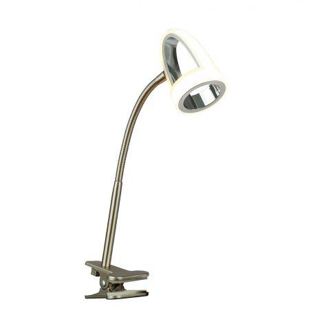 Lampi birou - Lampa LED birou / Veioza cu clips moderna RODRIK