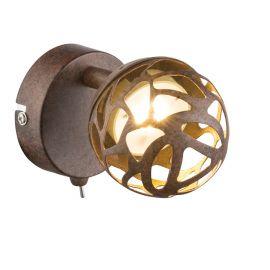 Aplica perete LED metal rustic Ohio