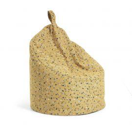Banchete-Tabureti - Taburete sac MARAIS, terrazzo galben mustar
