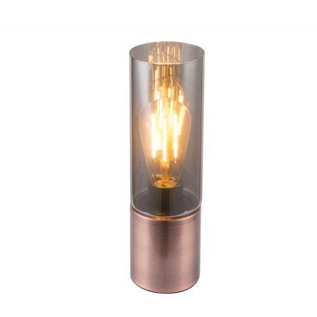 Veioze - Veioza / Lampa de masa stil modern ANNIKA cupru antic