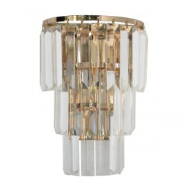 Aplice, corpuri de iluminat pentru pereti - Aplica moderna design elegant Donella auriu