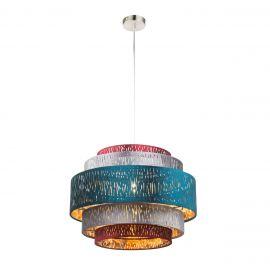 Pendule, Lustre suspendate - Lustra moderna catifea design multicolor Ø50cm TICON