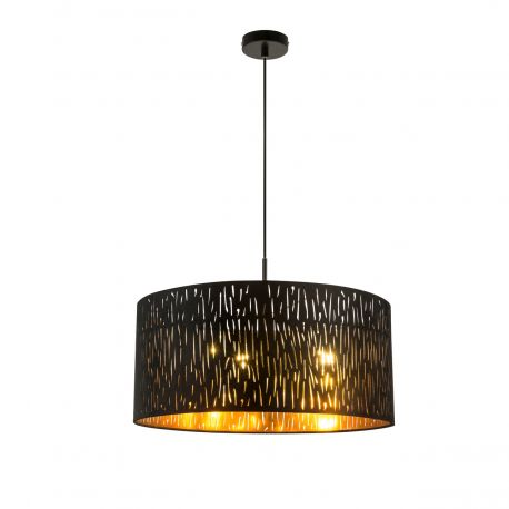 Pendule, Lustre suspendate - Lustra moderna catifea design elegant Ø50cm Tuxon