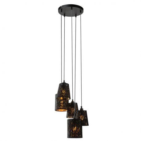Pendule, Lustre suspendate - Lustra moderna catifea design elegant Ø35cm Tuxon