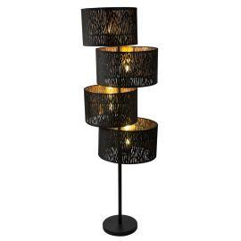 Lampadare - Lampadar modern catifea design elegant Tuxon 4L