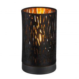 Veioze - Lampa de masa moderna catifea design elegant Tuxon