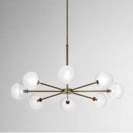 Lustra design minimalist Molecola 8L