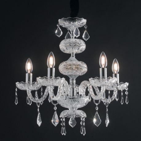 Candelabre, Lustre - Candelabru cu 5 brate, design elegant INCANTO