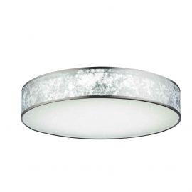 Lustre aplicate - Lustra LED dimabila cu telecomanda Ø60cm Amy argintie