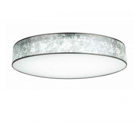 Lustre aplicate - Lustra LED dimabila cu telecomanda Ø80cm Amy argintie